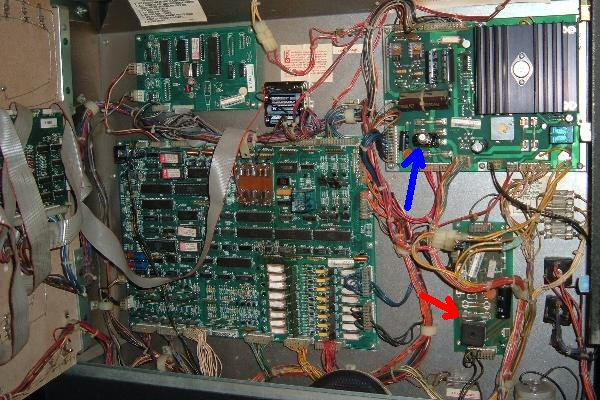 50 amp fuse melted box 1986 williams high speed pinball  repair 2 michigan  1986 williams high speed pinball  repair 2 michigan